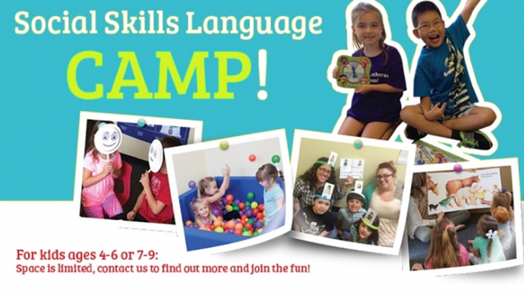 Social Skills Camps Now Forming