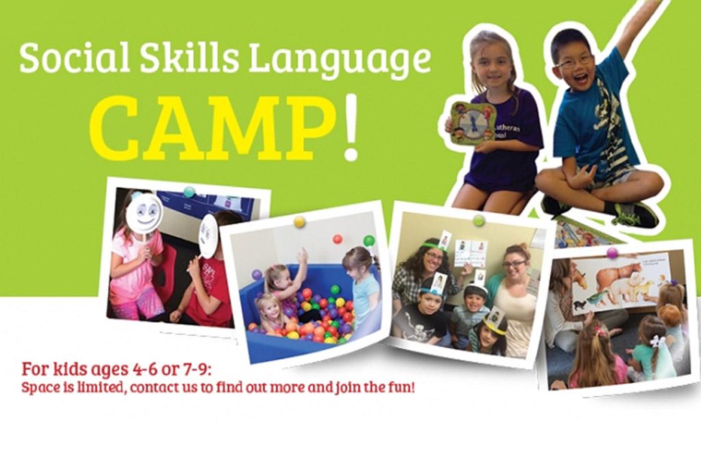 Social Skills Language Camp